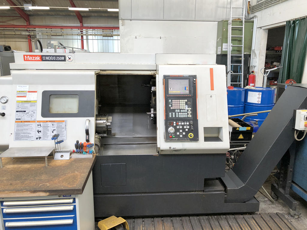 Mazak Quick Turn NEXUS 250 M Bj. 2005 - CNC-Drehmaschine